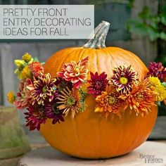 Entry decorating ideas for fall
