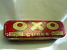 Tin OXO Cubes, England