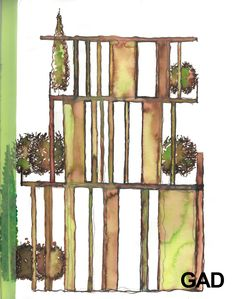 Ladder Decor, Sketch, Architecture, Book, Home Decor, Sketch Drawing, Arquitetura, Decoration Home, Books