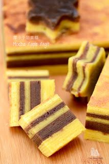 Coco's Sweet Tooth ......The Furry Bakers: 摩卡千层蛋糕 Mocha Lapis Legit