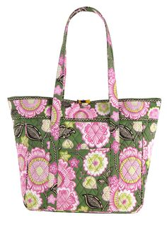 c7a3e4bb567a Vera Bradley Large Laptop Tote in Olivia Pink--This weekend only- Vera  Bradley