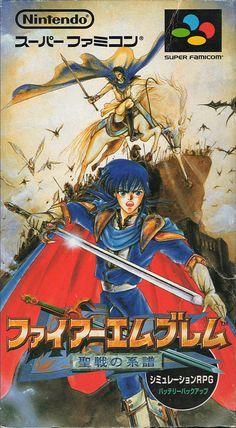 Fire Emblem: Seisen no Keifu, Super Famicom.