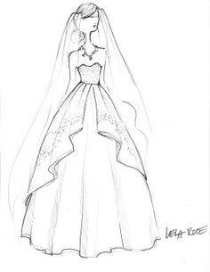 149 best inspiration images evening dresses formal dress party dress Carolina Herrera Dresses Day lela rose sketch for kate middleton wedding dress sketches designer wedding dresses fashion illustration