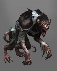 (By Scebiqu) ~Murnen~ The murnen are an extremely common wilden that typically lurk in remote and dark places away from other beings. However, they have a lust for food and gold, which leads them on raids through the sewers that carry them into the city.