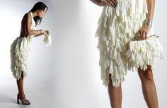 The Cherry Blog: rubber glove dress