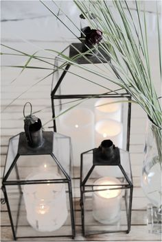 HOME NORD: TINE K MAROCKANSK LYKTA Home Candles, Candle Lanterns, Candleholders, Candels, Coastal Living, Interior Styling, Interior And Exterior, Glass Vase, House Design