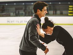 tessaandscottlove: creds to owner ~ Interview # 1 ~ Tessa: I think the ability to laugh and be completely yourself with someone else is the most romantic thing ever. Scott: Aww. Now that's just cute. ~ Interview # 2~ Scott: What's your favourite thing about skating with the one and only Scott Moir? Tessa: My favourite thing is how much Mr. Scott Moir makes me laugh. Does she not see it???? Nope….refuse to believe she doesn't