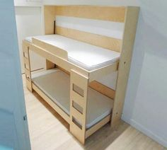 Folding bunk beds for Gypsy living