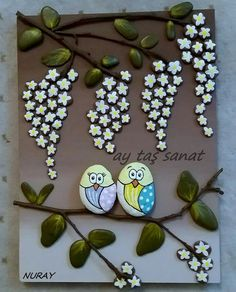 Batıkent Stone Crafts, Rock Crafts, Clay Crafts, Arts And Crafts, Pebble Painting, Pebble Art, Stone Painting, Rock And Pebbles, Hand Painted Rocks