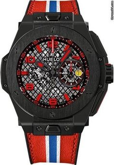 Hublot Big Bang Ferrari Speciale Limited Edition Red White Blue