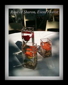 Rose of Sharon Floral Designs, Submerged Roses