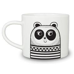 The porcelain mugs by Jane Foster are inspired by Scandinavian, and 70 design. They are bold, simple and happy, appealing to adults and children alike. Jane Foster, Shops, Cool Gifts For Kids, Red Cat, China Mugs, China Painting, Animal Heads, Soft Furnishings, Scandinavian Design