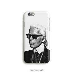 Case Karl Lagerfeld Phone iPhone 6 6s 5 5s 5c 4 4s by Printionary