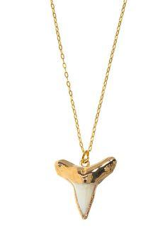 Shark Tooth Pendant Necklace on HauteLook