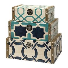 Hadley Boxes Set by Bombay