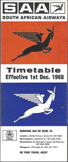 SAA Timetable South African Air Force, Nostalgic Pictures, Vintage Metal Signs, Civil Aviation, African History, Africa Travel, Traveling By Yourself, Sign Boards, Aircraft