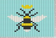 Tricksy Knitter Charts: Queen Bees by e.retana.torres