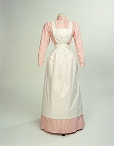 This uniform is what Dru's maids wore, including the dead maid found in Peter's room.