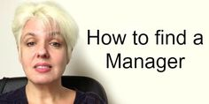 The answer to the questions I'm most asked by Musicians. How to Find a Manager! by Anthea Palmer