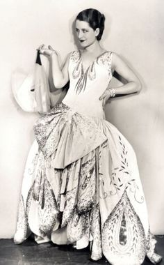 Norma Shearer in Gilbert Adrian - 1929 - The Last of Mrs. Cheyney - Photo by Ruth Harriet Louise