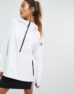 Adidas - ZNE - Veste coupe-vent - Blanc