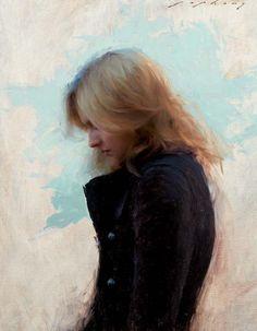 Jeremy Lipking Visual Noise: Photo