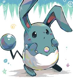 Azumarill. One of the most useful Pokémon in X and Y you'll ever find.