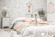 ATELIER RUE VERTE le blog: Ce matin ... j'ai aimé #11 / Teintes pastel pour lit douillet /