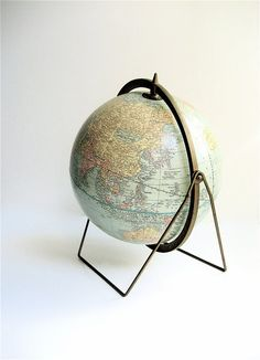 Vintage Crams World Globe par lovintagefinds sur Etsy