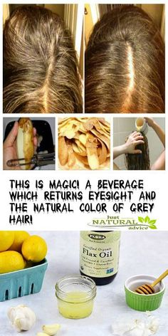 This Is Magic! A Beverage Which Returns Eyesight and The Natural Color of Grey Hair!