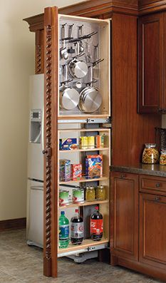 Ineresting idea for pots and pans.  Tall Organizer