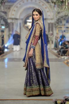 Samreen's Closet - Pakistani Bridal Fashion at Pantene Bridal Couture Week 2013 PBCW Lahore