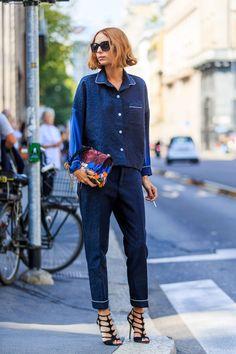La chemise de pyjama, la nouvelle chemise blanche ? | Glamour