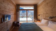 ALPENLOFT Rosa Bad Gastein, New Homes, Loft, Windows, Curtains, Container, House, Home Decor, Travel