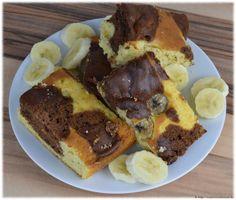 Blechkuchen mit Kuhflecken und Bananen - Trial and Error