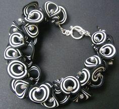 Black and White Bracelet | Flickr - Photo Sharing!