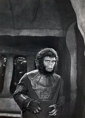 """Roddy McDowall as """"Cornelius"""" in PLANET OF THE APES ~1968"""
