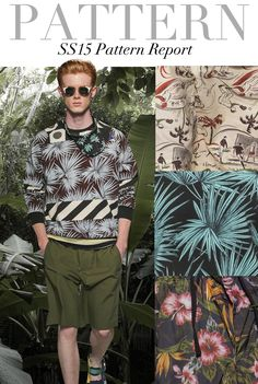 TREND COUNCIL SS 2015 PATTERN REPORT