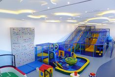 Indoor Playground Equipment, Soft Toddler Play Area, Sport Rink all manufactured and installed by International Play Company