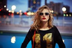 Cara Delevingne in Reserved SS 2013 Campaign 9