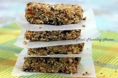 Honey Bear Granola Bars l Meal Planning Maven