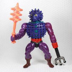 Spikor mit Waffe komplett Figur Masters of the Universe Motu He-Man Sammlung