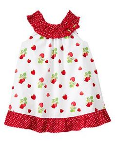 I love the strawberry line at Gymboree!!  So vintage looking!