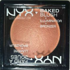 NEW NYX Cosmetics Baked Blushes via @GlitzGlamBudget #nyx #makeup #cosmetics