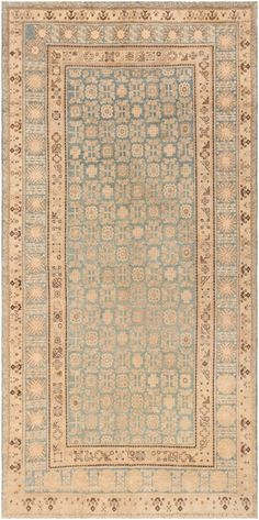 Antique Khotan Rug from East Turkestan 46703 Nazmiyal - By Nazmiyal