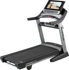 The Commercial 2950 is NordicTrack's premium treadmill for any workout intensity. Optimized for iFit Coach treadmill workouts, the 2950 has a high-def touchscreen and a track with power incline to mimic outdoor routes. Treadmill Machine, Home Treadmill, Folding Treadmill, Treadmill Workouts, Fun Workouts, At Home Workouts, Abdominal Machine, Best Home Workout Equipment, Treadmill Reviews