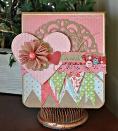 Scrap Playground: Create Blog Challenge: Valentine Cards