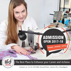 The Best Place To Enhance Your Career And Achieve!!  Choose Your #Course and Speak with our Expert #Counselor And Make Your #Dreams Come #True.  For #Admission_Process Call @+919041766699 OR Visit @ www.iifd.in  #Admission2017 #IIFD #Chandigarh #FashionDesigning #IIFDStudents #CreativeIdea #InteriorDesigning #TextileDesigning