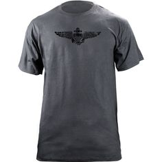 Navy Aviator Subdued Badge T-Shirt