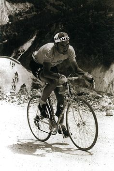 cadenced: The Man, Eddy Merckx in 1968, winning the first of his five Giro titles. Photo comes from Cycle Sport Magazine's supplement Giro d'Italia: Scenic Images of the Race.